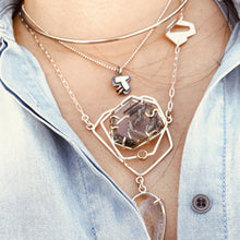 Load image into Gallery viewer, Layered-Necklace-Styling-TINHAUS