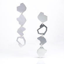 Load image into Gallery viewer, Particle Earrings - Sterling Silver - TIN HAUS Jewelry