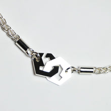 Load image into Gallery viewer, Presence II-Loop Bracelet in Polish - Sterling Silver, Fine Silver - TIN HAUS Jewelry