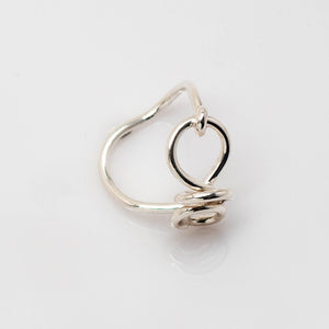 Spiri Ring - Sterling Silver - TIN HAUS® Jewelry
