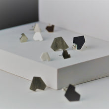 Load image into Gallery viewer, Stillness Studs, Small and Large Group Shot - TIN HAUS Jewelry
