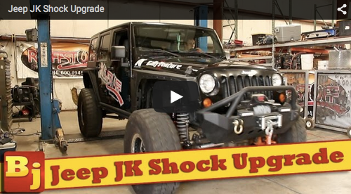 Jeep JK Shock Upgrade for Ruffstuff on Bleepinjeep