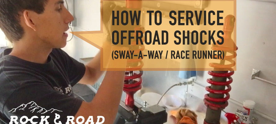 How to Service Offroad Shocks / Sway-A-Way RaceRunner Coil-Overs