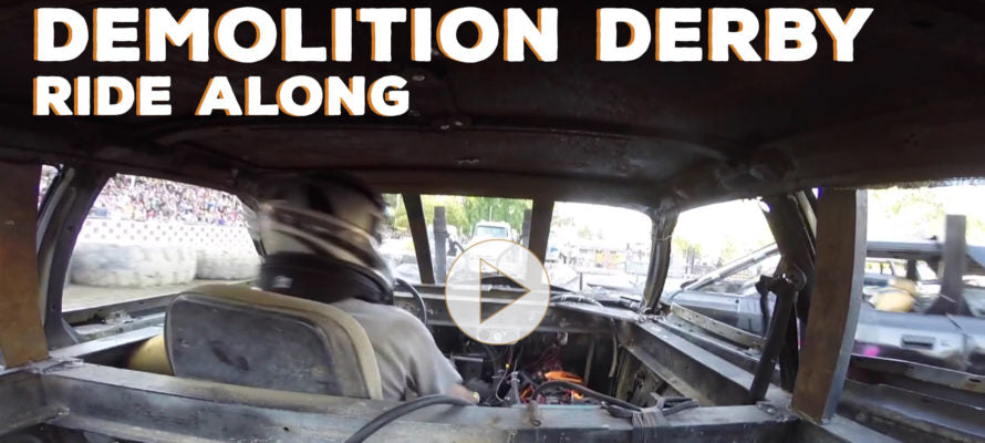 Wanna Drive in a Demolition Derby Car?