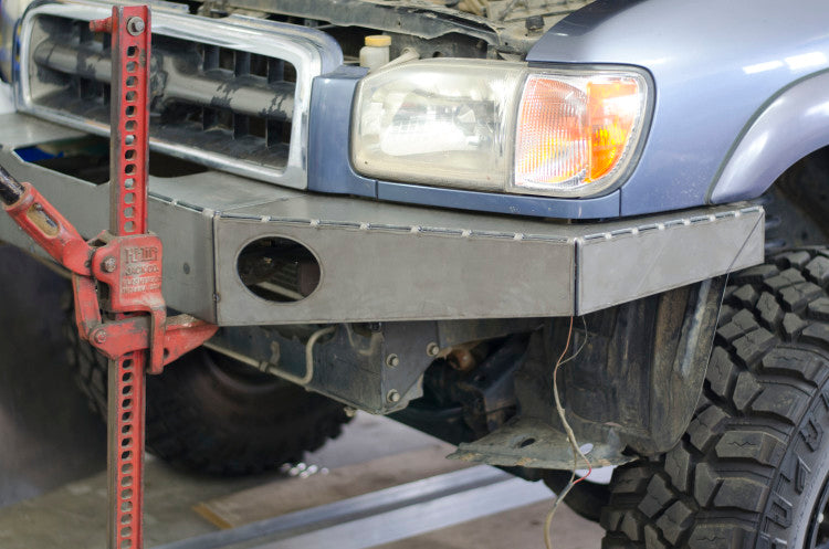 plate bumper rock and road fabrication welding offroad