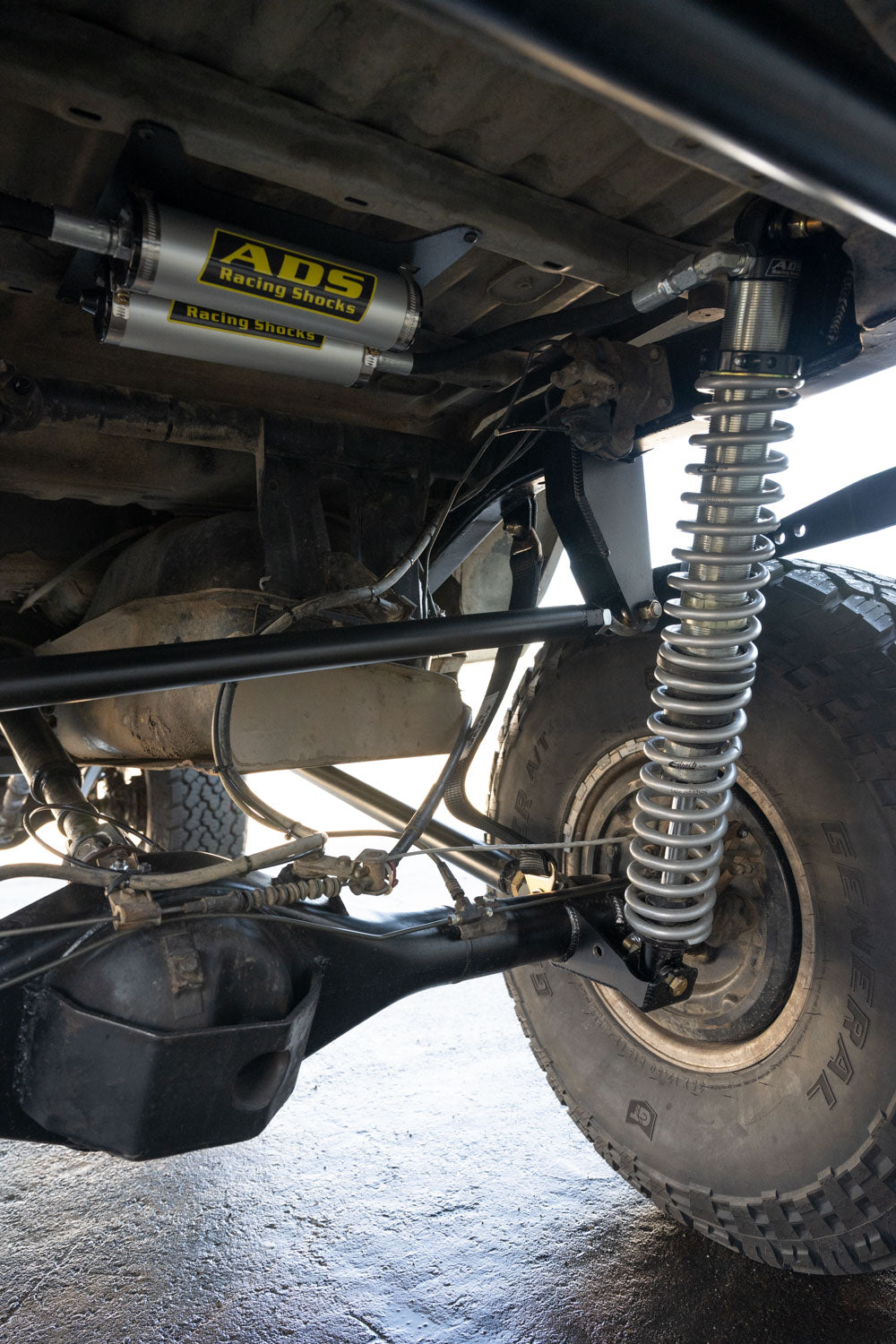 rock and road 4runner suspension 3 link