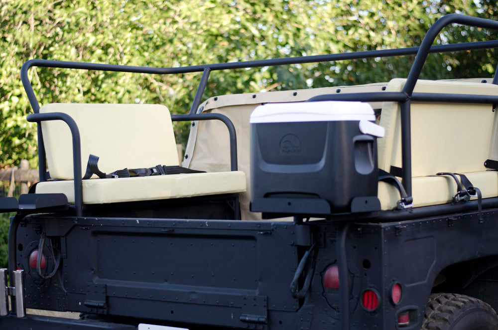 Humvee project overhaul ranch rig, hunting rig, adventuremobile, unique custom metal fabrication for offroad vehicles in northern california.