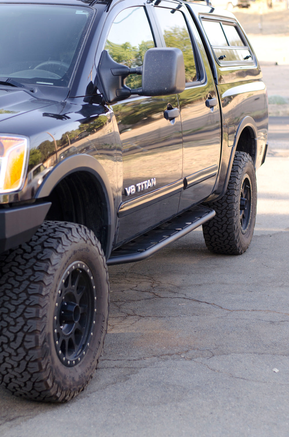 custom sliders Nissan Titan