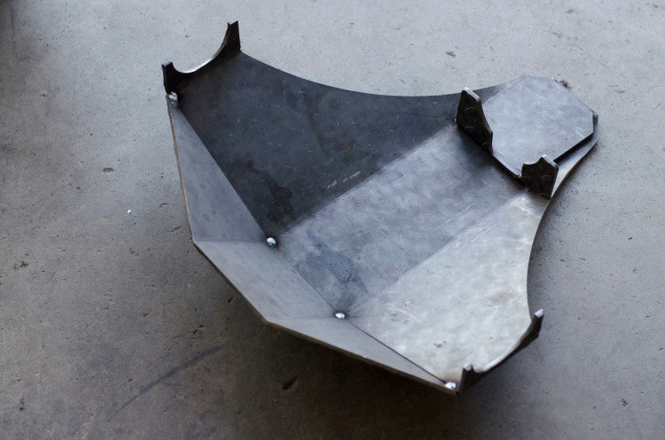 Jeep Wrangler TJ rear differential skid plate