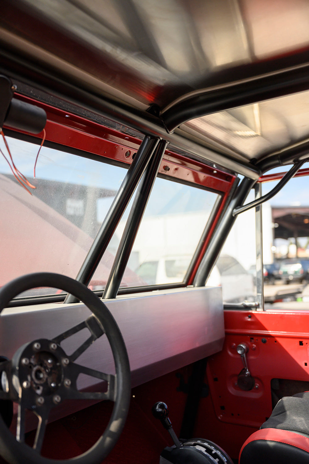 Custom 6 point roll cage vintage bronco