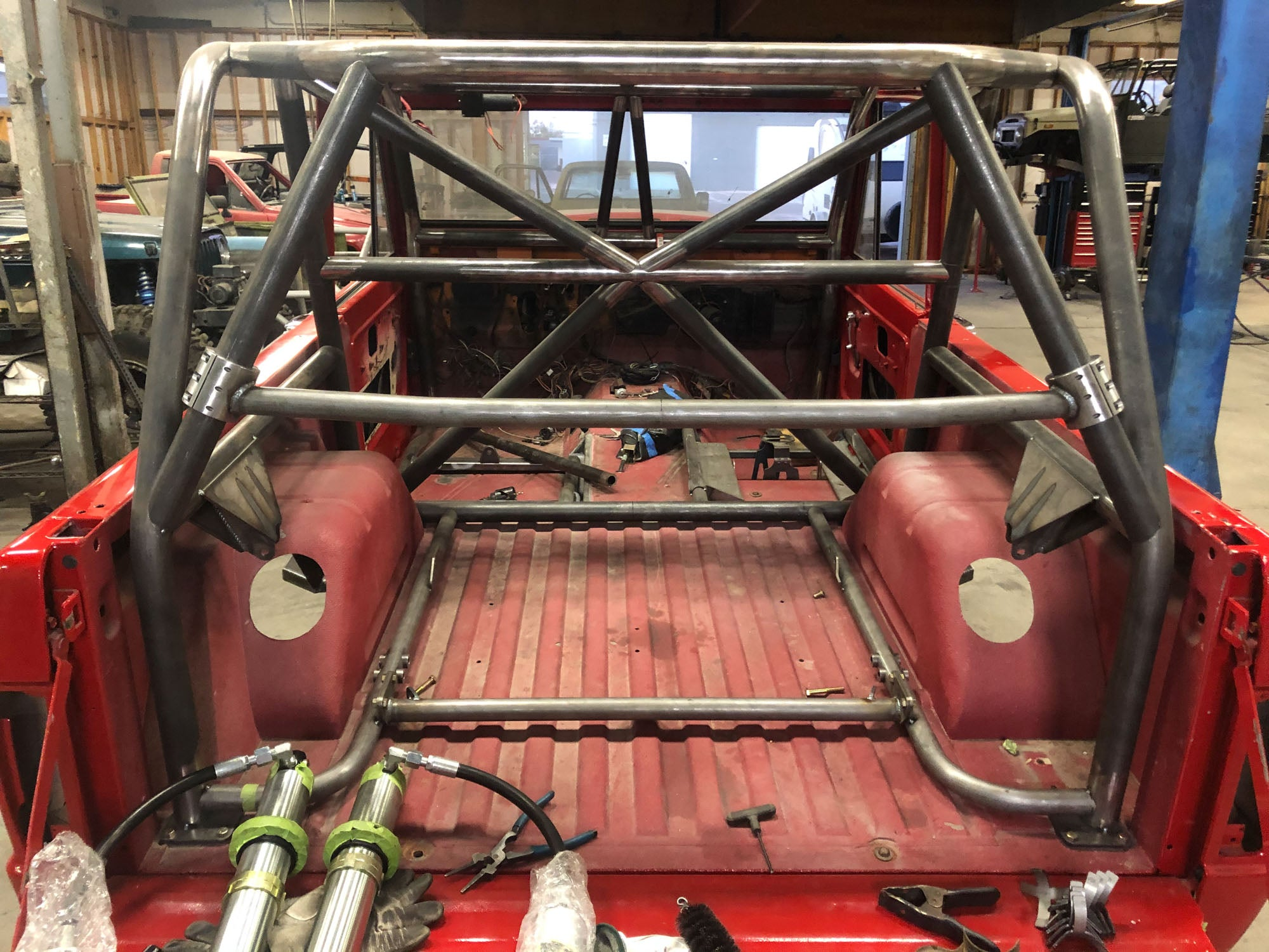 bronco roll cage