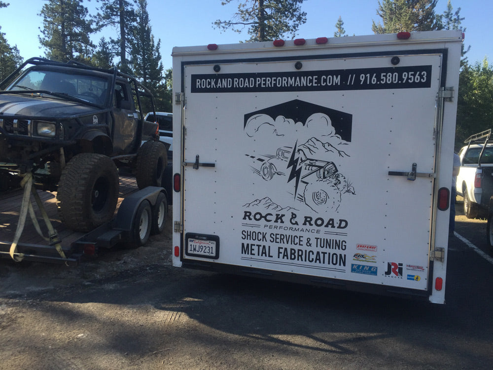 Rock and Road mobile shock trailer