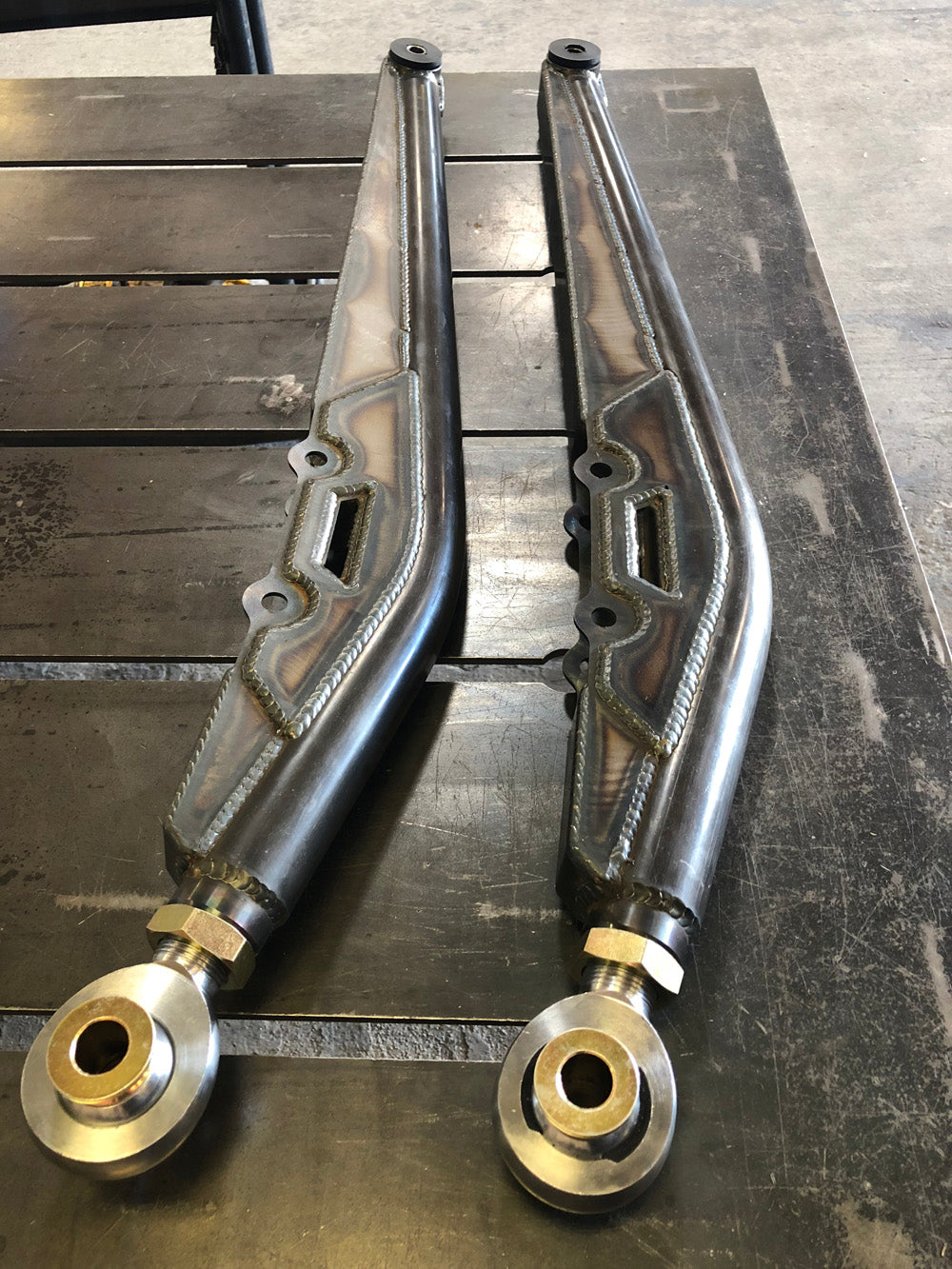 custom jeep offroad trailing arms