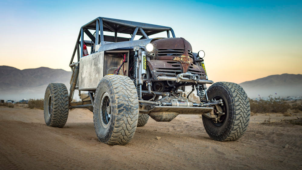Rock Road Ultra4 Buggy warn winch