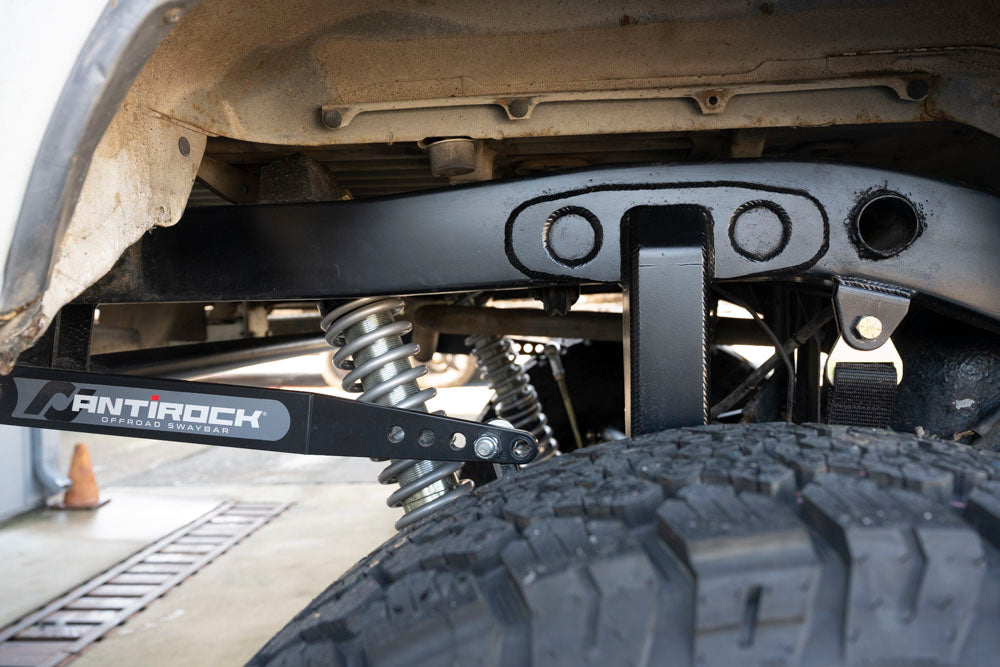 Rock and road Toyota 4Runner suspension build 3 link