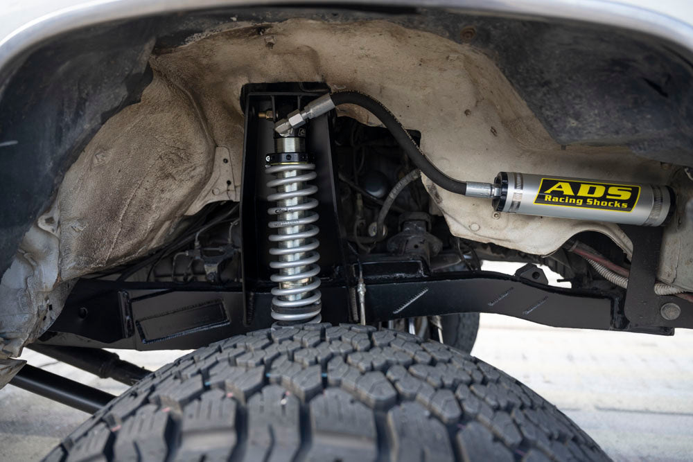 Rock and road Toyota 4Runner suspension build 3 link ads shocks
