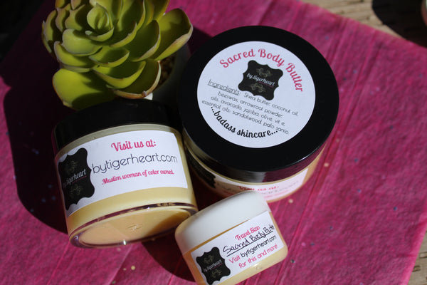Sacred Body Butter (4 oz)