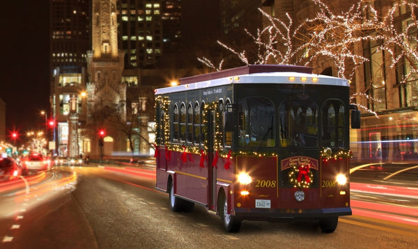 Holiday Lights Trolley Tours   Cleveland