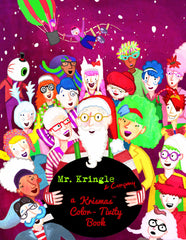 Mr. Kringle & Company Coloring Book