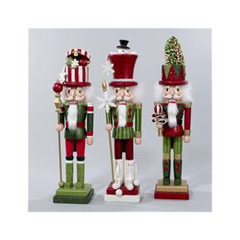 Hollywood Hatbox Nutcrackers