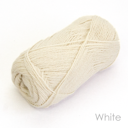 Angel Touch 4ply White