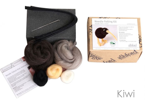 Ashford Needle Felting Kit Kiwi