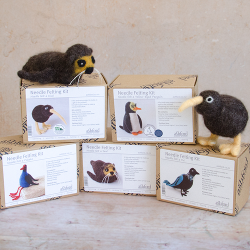 Ashford Needle Felting Kits New Zealand Wildlife