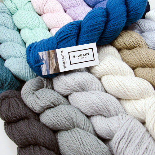 Blue Sky Organic Cotton Worsted