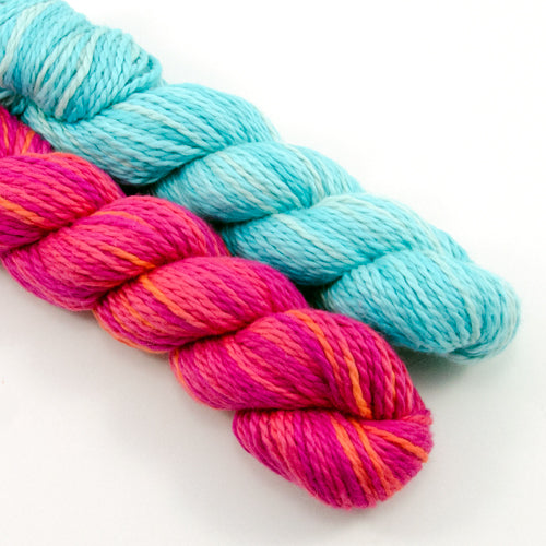 Blue Sky Organic Cotton Worsted Multi