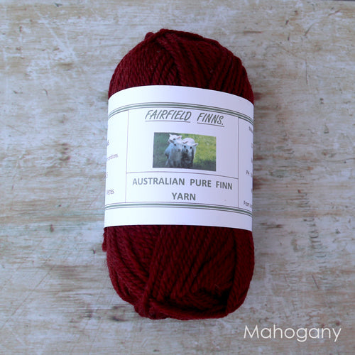 Fairfield Finns Finn Wool 8ply Mahogany