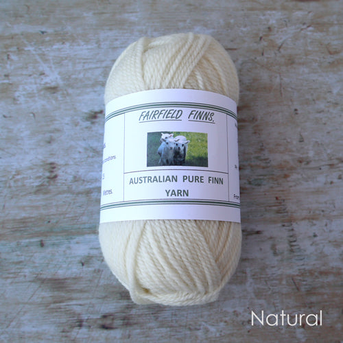 Fairfield Finns Finn Wool 8ply Natural