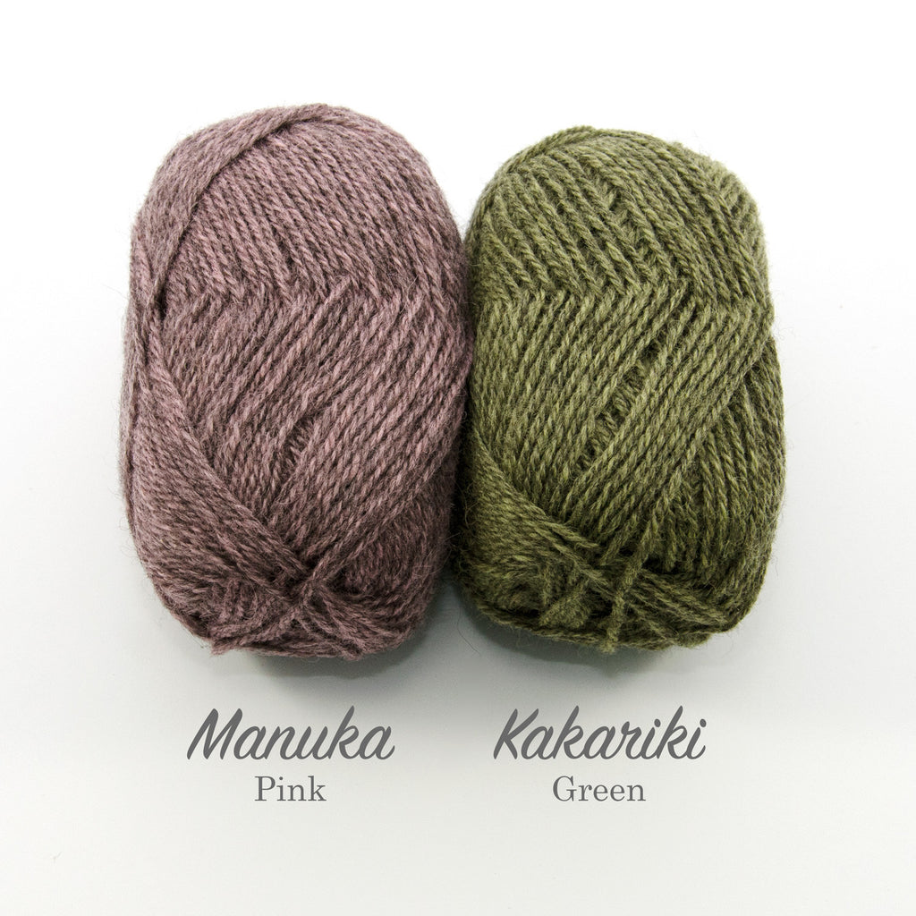 Stansborough Mithril 8ply Manuka Kakariki