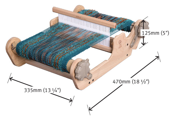 Ashford SampleIt Loom 25cm measurements
