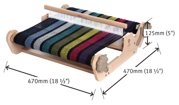 Ashford SampleIt Loom 40cm measurements