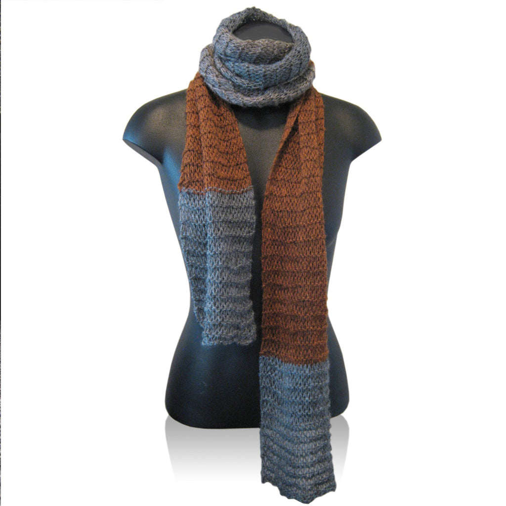 Stansborough Bofur Patchwork Scarf Knit Pack