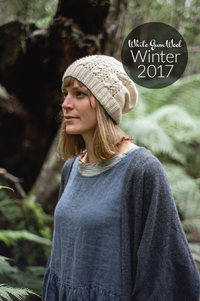 Tea Breeze hat knitting pattern
