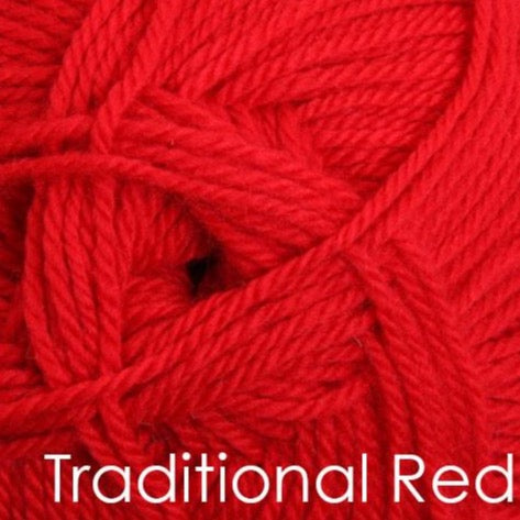 Ashford Tekapo 12 ply Traditional Red