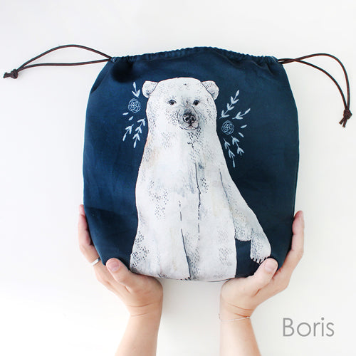 The Blue Rabbit House Project Bag Boris