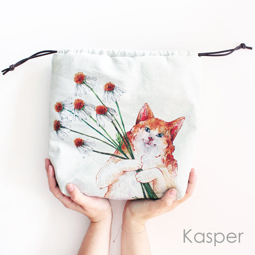 The Blue Rabbit House Project Bag Kasper