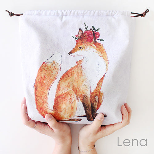The Blue Rabbit House Project Bag Lena
