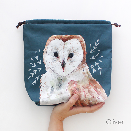 Oliver Owl project bag
