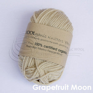 WOOLganic 8ply Grapefruit Moon