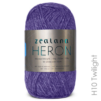 Zealana HERON Worsted Twilight