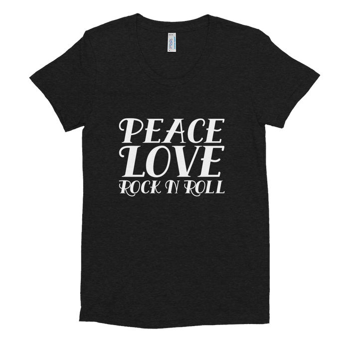 Peace, Love, Rock N Roll Tee