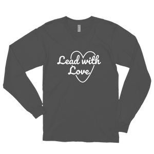 Lead with Love Long Sleeve Tee (Unisex)