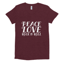 Load image into Gallery viewer, Peace, Love, Rock N Roll Tee