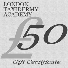 Gift Certificate £50