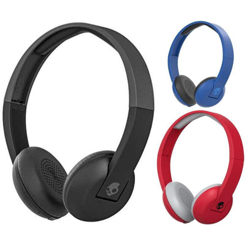 Skullcandy Uproar Bluetooth Wireless On-Ear Headphones with Built-In Mic and Remote - The remedy barn