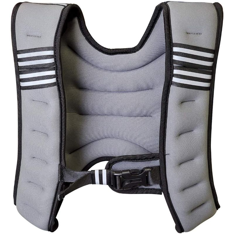 Weighted Workout Adjustable Body Vest for Sports Training with Built-in Weights