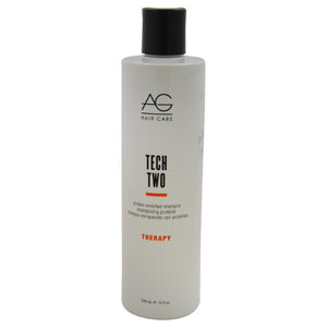 Tech Two Protein-Enriched Shampoo by AG Hair Cosmetics for Unisex - 10 oz Shampoo - The remedy barn